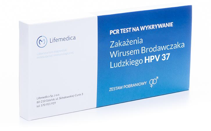 Test na kłyciny kończyste - test HPV 37