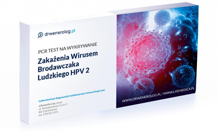 Test zakazenia wirusem brodawczaka ludzkiego HPV 2